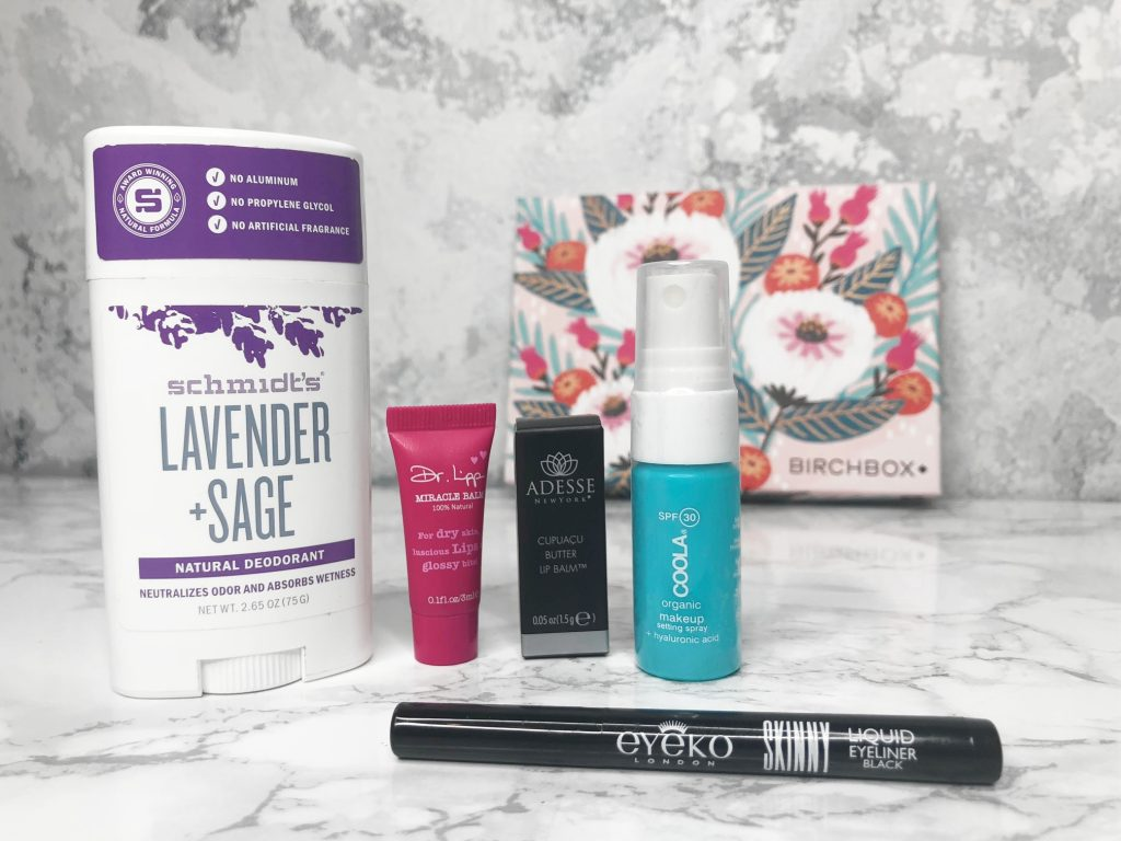 Birchbox Review 2018 - Products