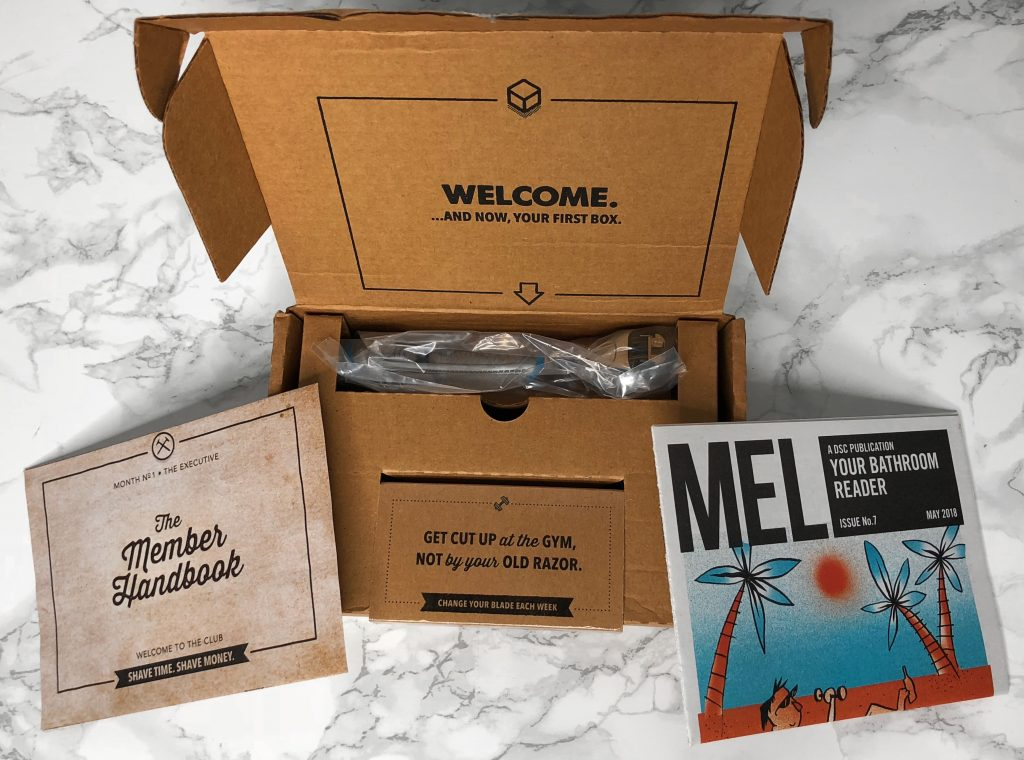 Dollar Shave Club Reviews - Unboxing