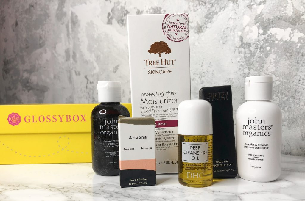 Glossybox Review - May 2018 Products