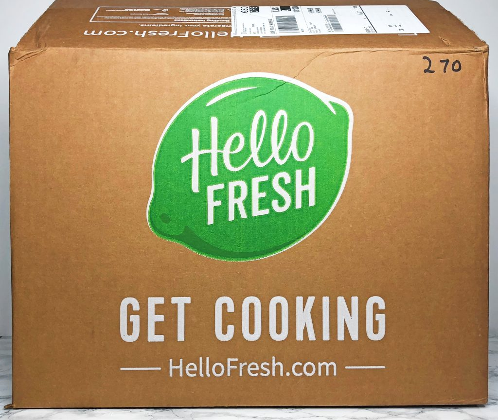 HelloFresh Reviews - Unboxing