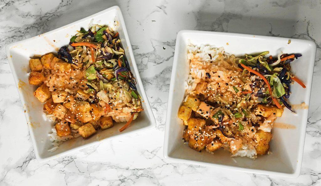 Home Chef Reviews - Bang Bang Tofu