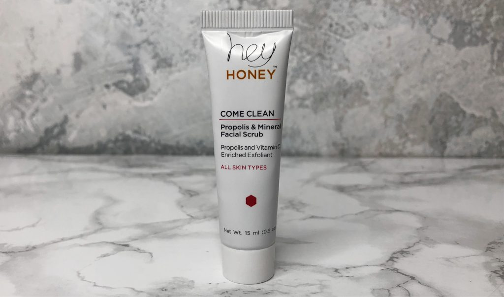 Ipsy Reviews - Hey Honey Facial Scrub