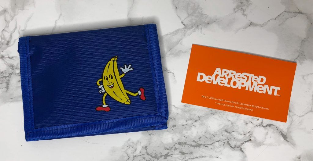 Loot Crate Review - Arrested Development Wallet