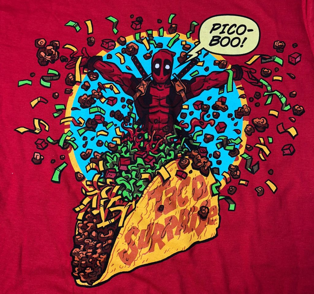 Loot Crate Review - Deadpool Shirt