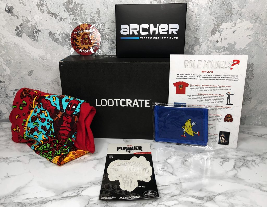 Loot Crate Review - Products