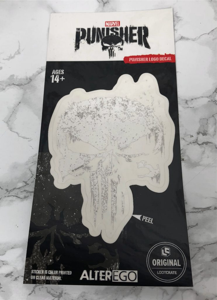 Loot Crate Review - Punisher Decal