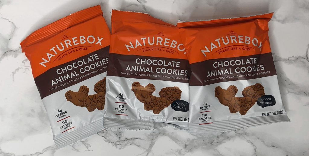Naturebox Review - Chocolate Animal Cookies Review
