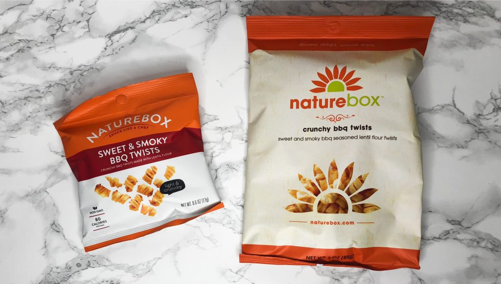 Naturebox Review - Crunchy BBQ Twists Review