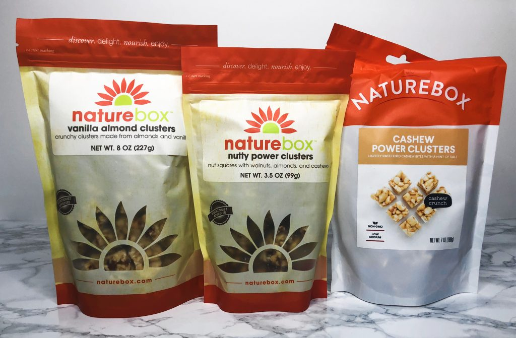 Naturebox Review - Nut Cluster Snacks