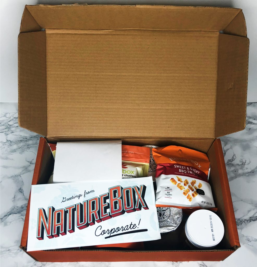 Naturebox Review - Unboxing