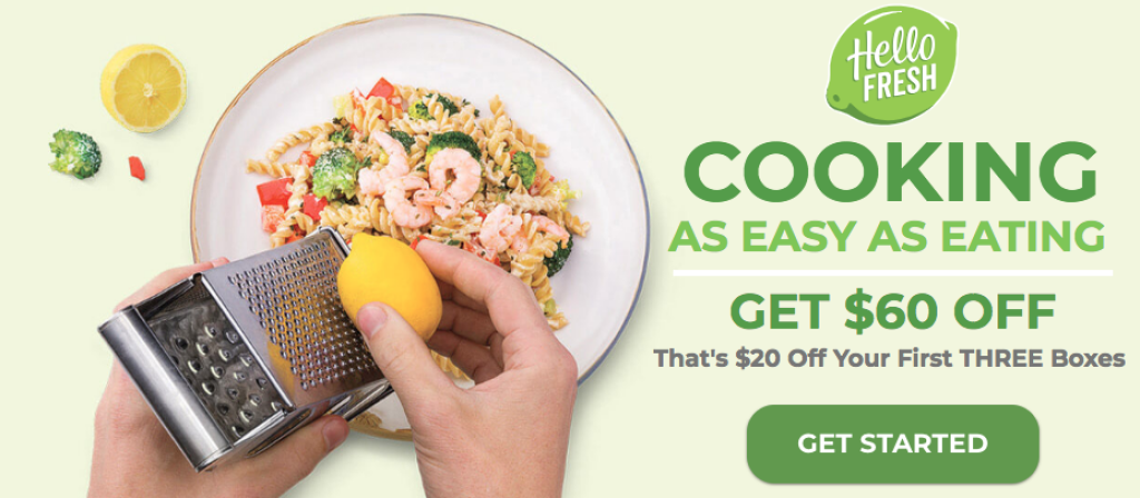 HelloFresh Reviews - $60 Off