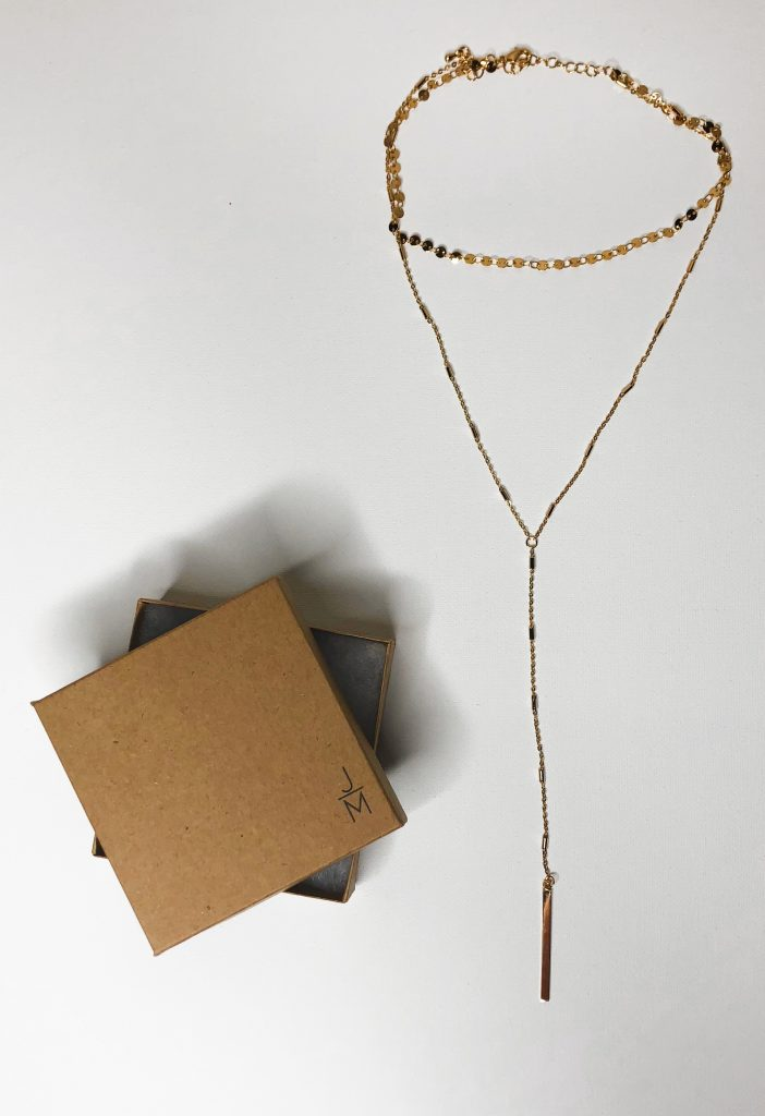 Stitch Fix Review - Necklace