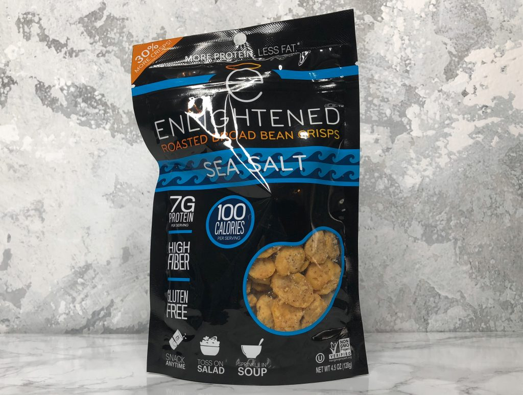 Urthbox Reviews - Enlightened Roasted Broad Bean Crisps Review