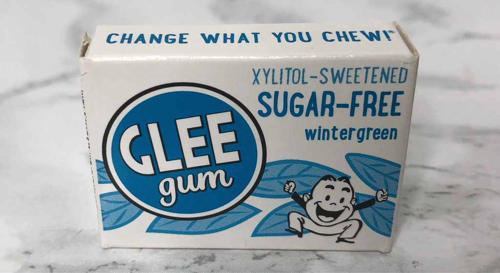 Urthbox Reviews - Glee Gum Review Wintergreen