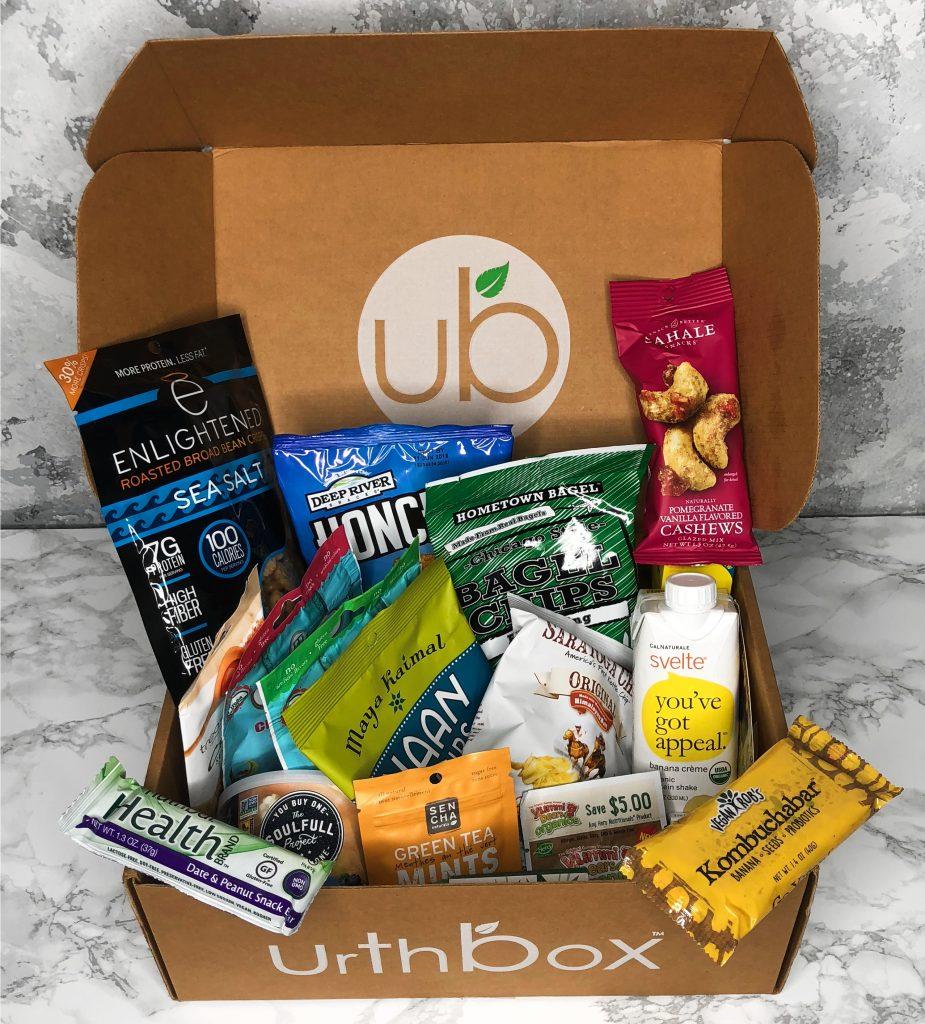 Urthbox Reviews - Large Box Snacks