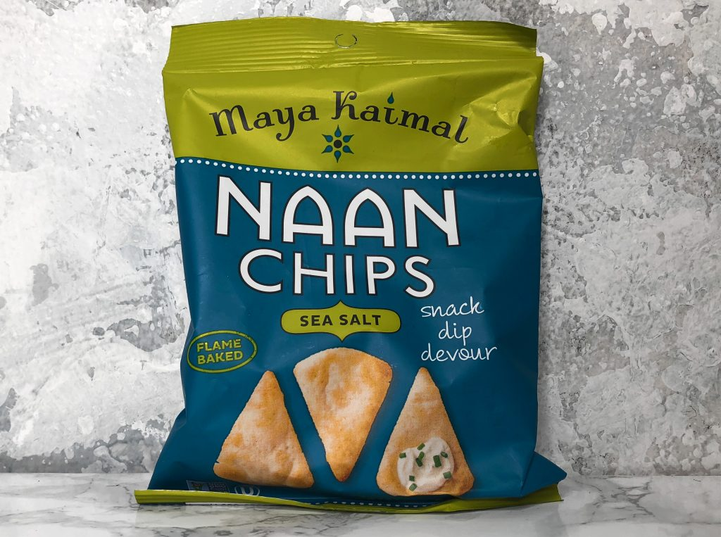 Urthbox Reviews - Maya Kaimal Naan Chips