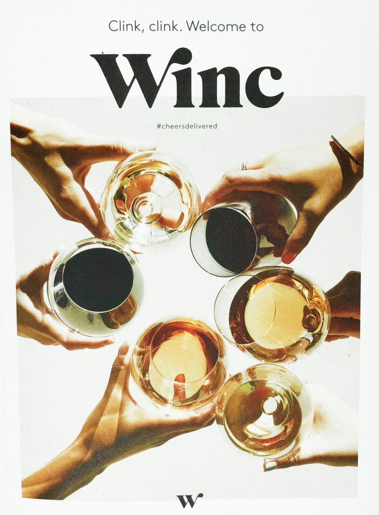 Winc Review - Booklet