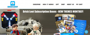 Brick Loot Review - Website Impressions
