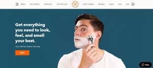 Dollar Shave Club Reviews - Website Experience