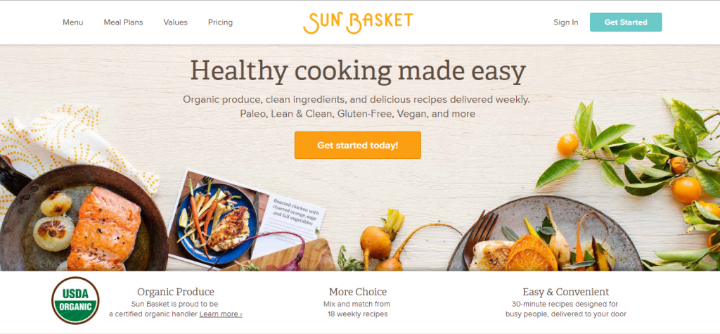 Home Chef Reviews - Sun Basket