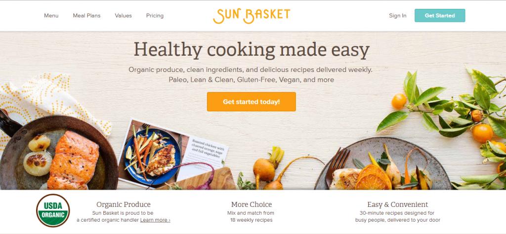 Home Chef Reviews - Sun Basket