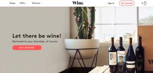Winc reviews - Website Impressions