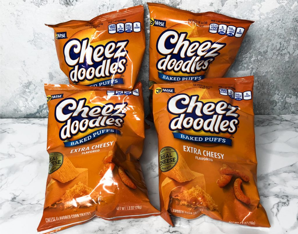 Degustabox Review - Cheez-doodles