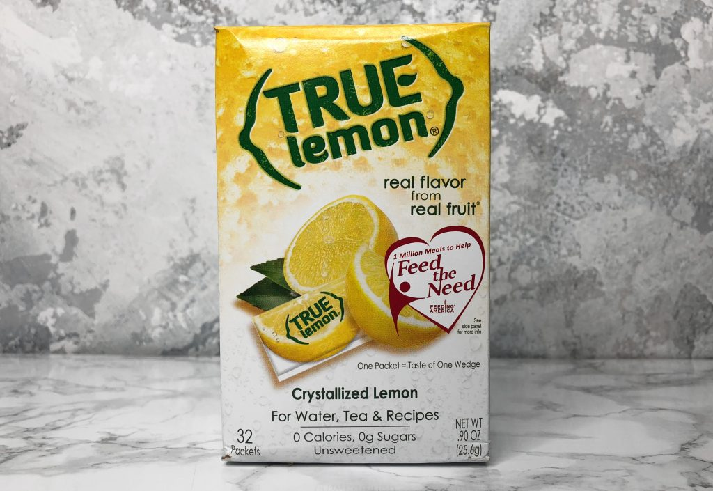 Degustabox Review - True Lemon Packets