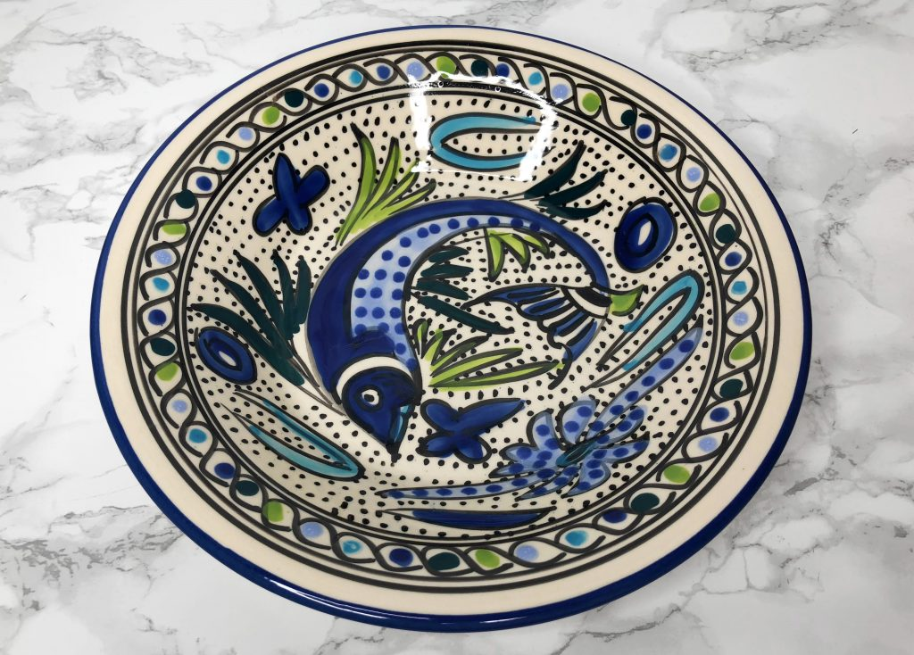 GlobeIn Artisan Review - Le Souk Ceramique Hand-Painted Bowl