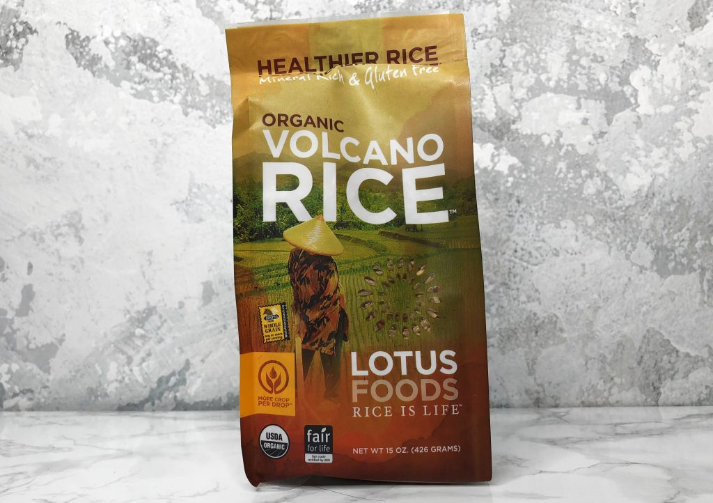 GlobeIn Artisan Review - Lotus Foods Volcano Rice Review