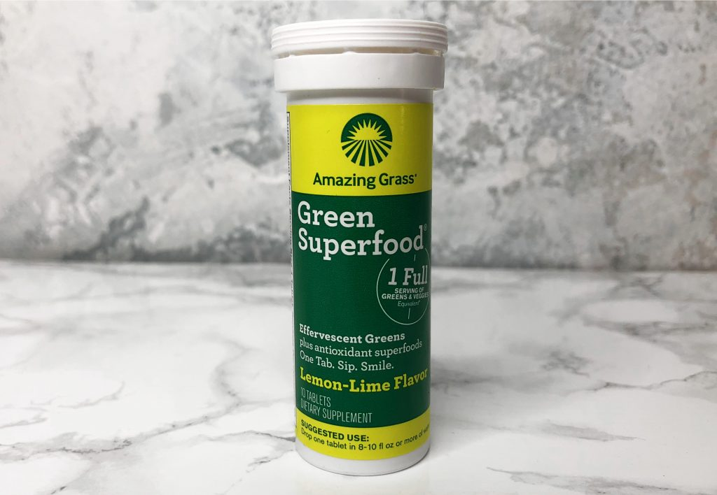 Urthbox Review - Amazing Grass Green Superfood Supplement