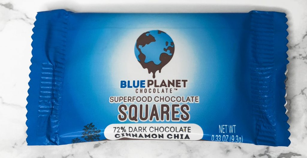 Urthbox Review - Blue Planet Chocolate Squares