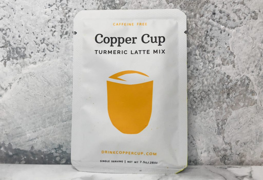 Urthbox Review - Copper Cup Turmeric Latte Mix Review