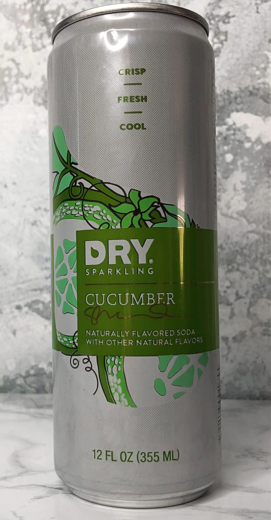 Urthbox Review - Dry Sparkling Cucumber Water