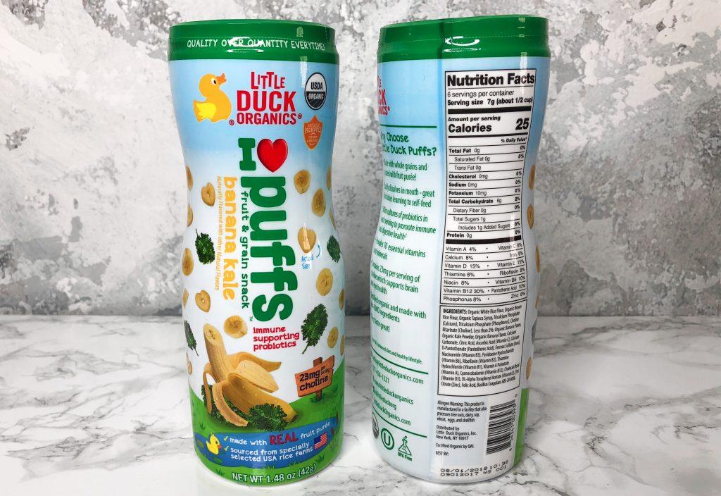 Urthbox Review - Little Duck Organics Banana Puffs