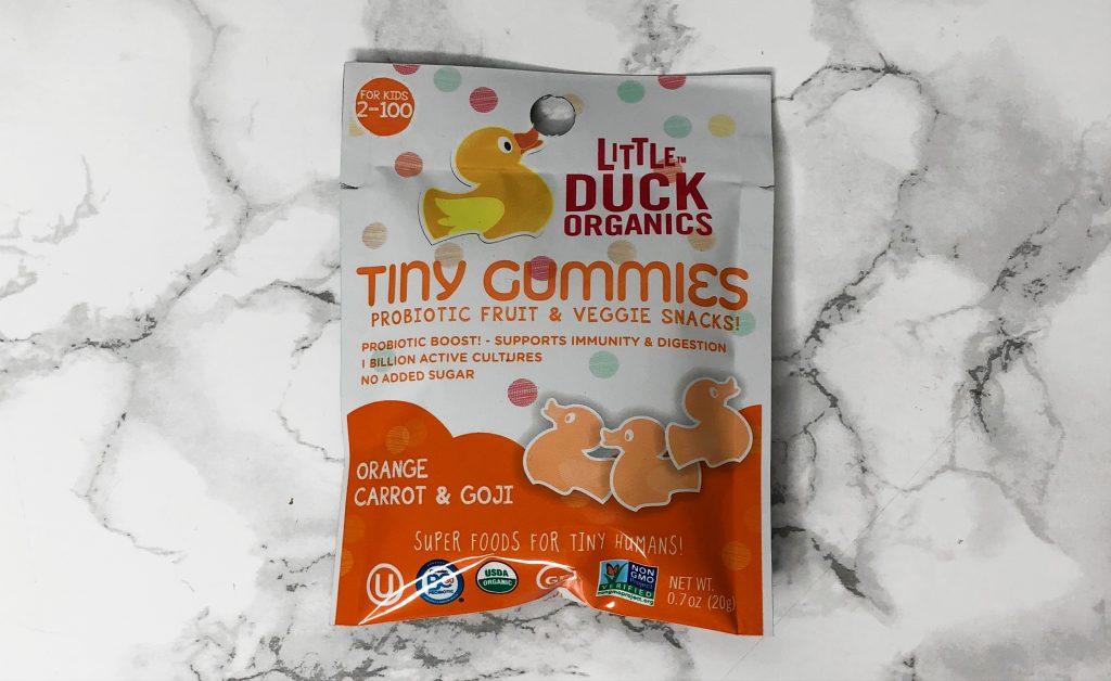 Urthbox Review - Little Duck Organics Tiny Gummies Review