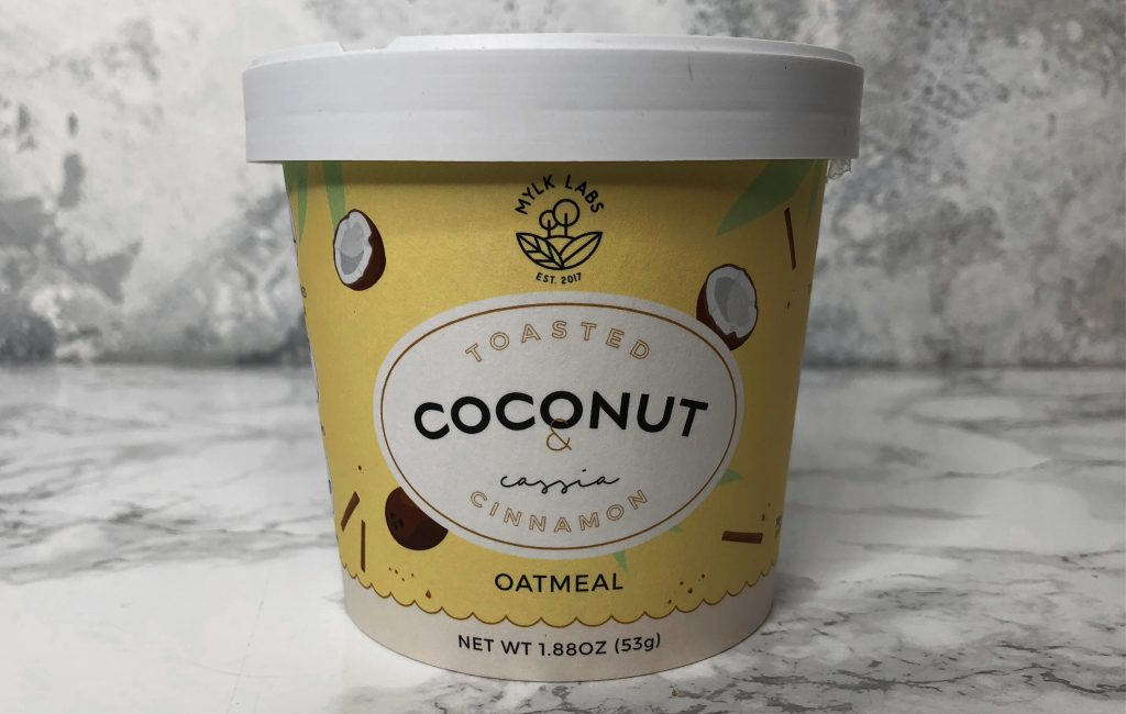 Urthbox Review - Mylk Labs Toasted Coconut Oatmeal