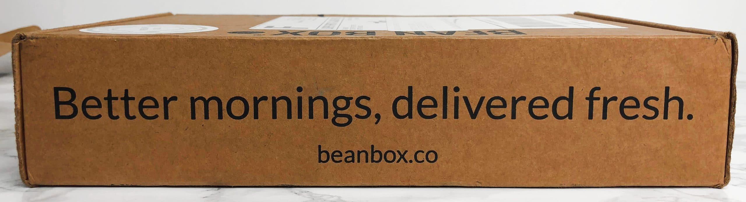 Bean Box Review - Freshness
