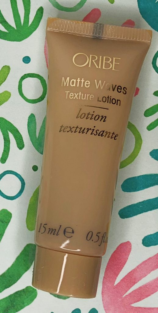 Birchbox Review - Oribe Matte Waves Lotion