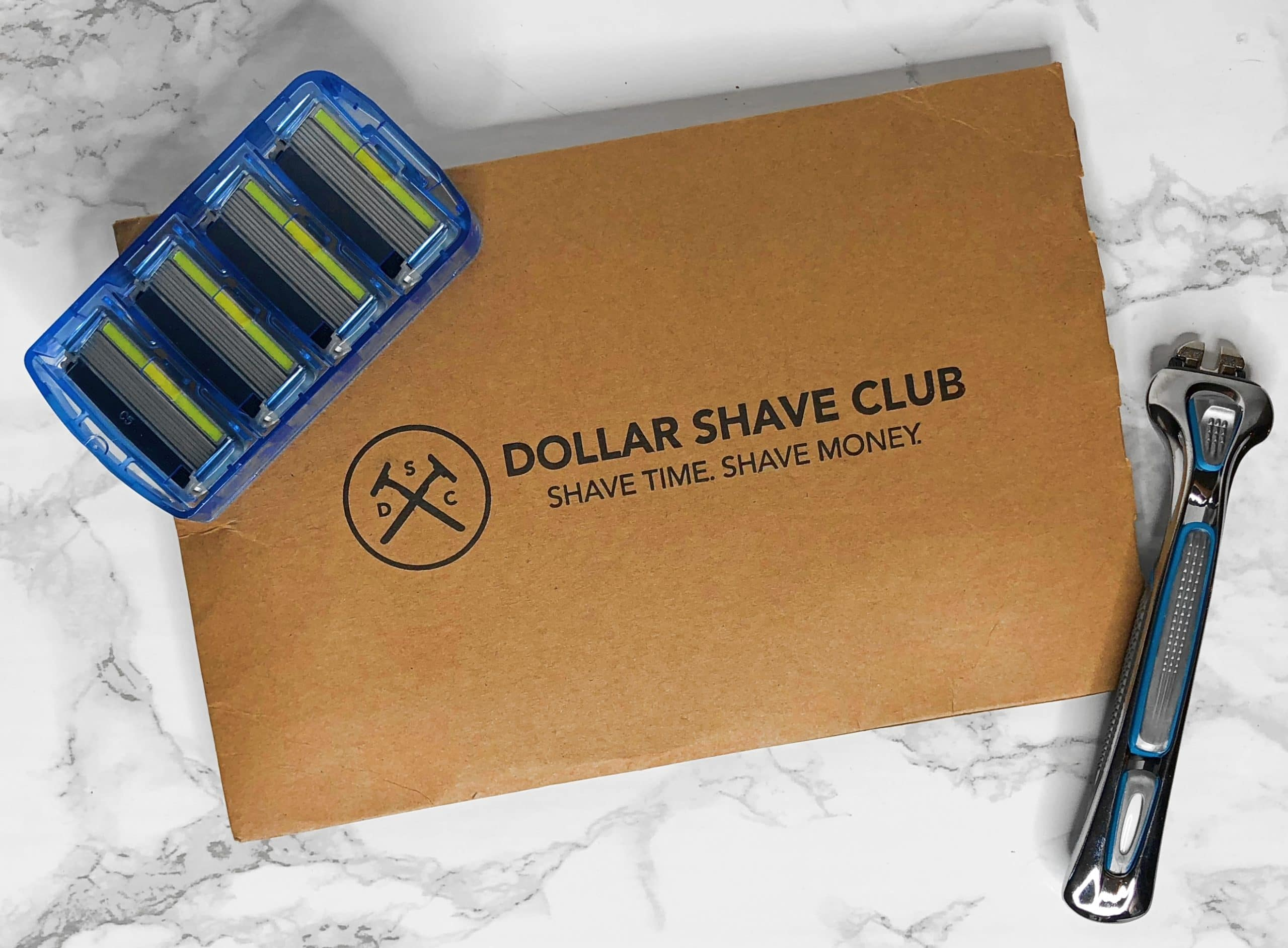 dollar shave club july 2018 review unboxing