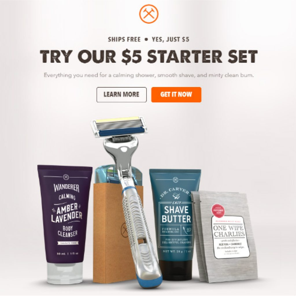 Dollar Shave Club Review - Starter Set