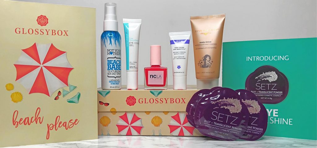 Glossybox Review - August Products