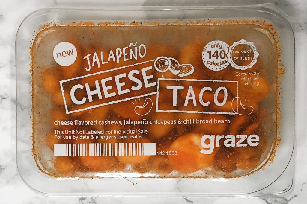 Graze Review - Jalapeno Cheese Taco Review
