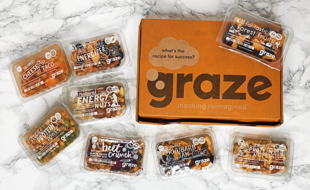 Graze Review - July 2018 Snacks