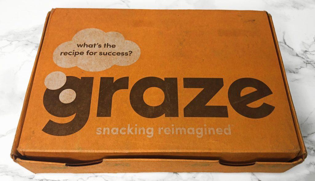 Graze Review - Snack Unboxing