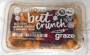 Graze Review - Sweet and Spicy Beet Crunch Review