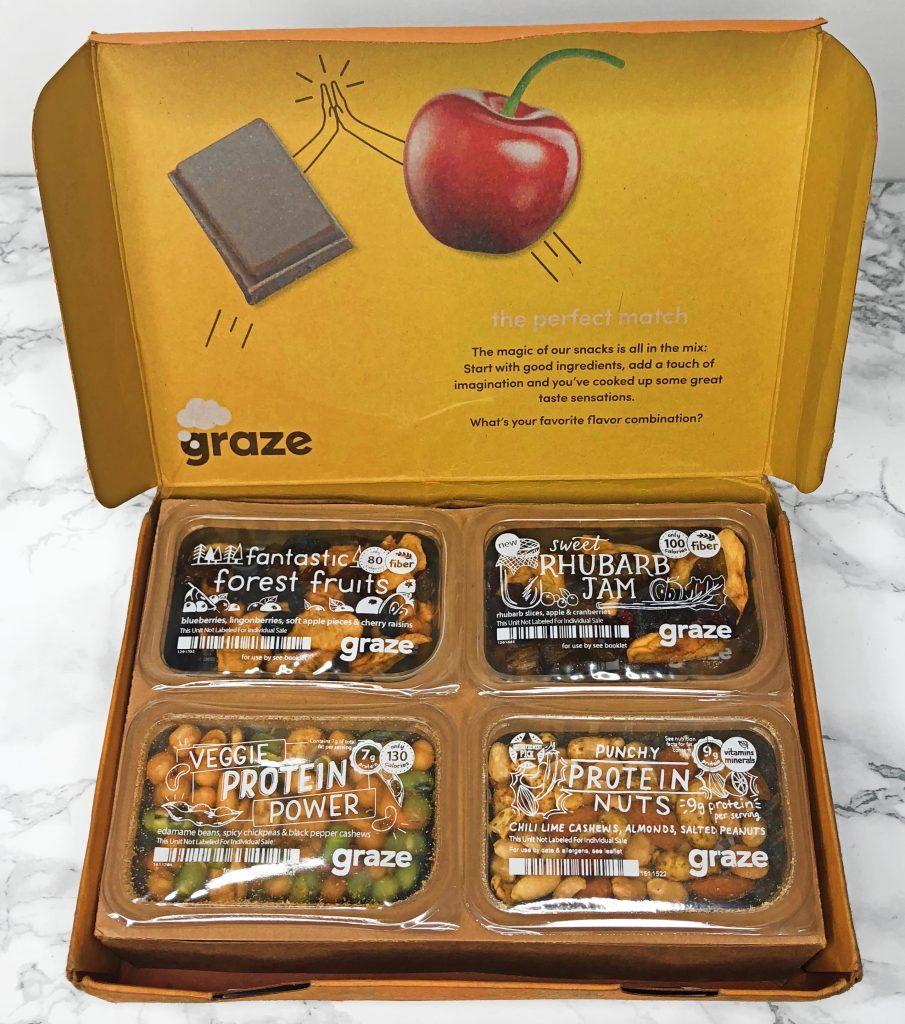 Graze Review - Unboxing Snacks