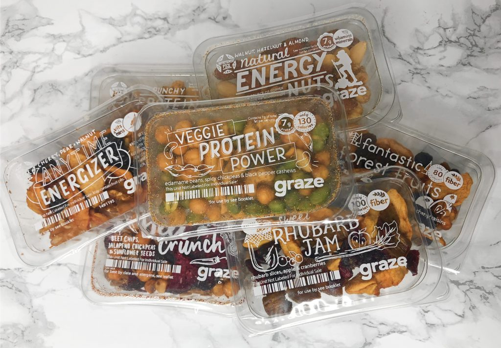 Graze Review - Snack Box Unboxing