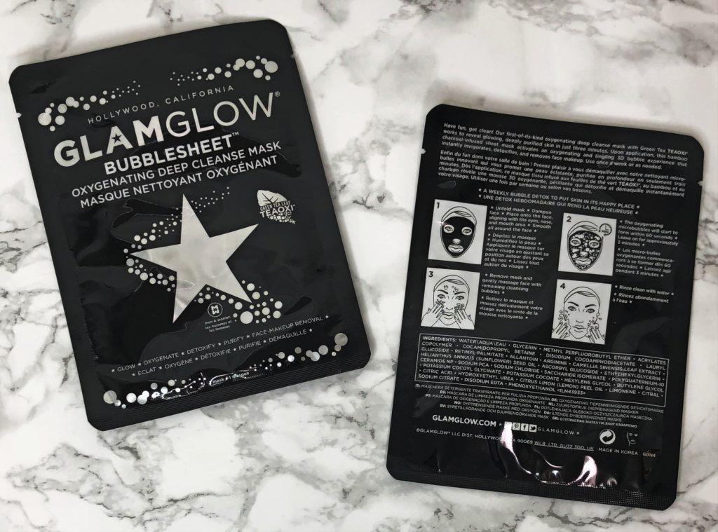 FabFitFun Reviews - GlamGlow Bubblesheet