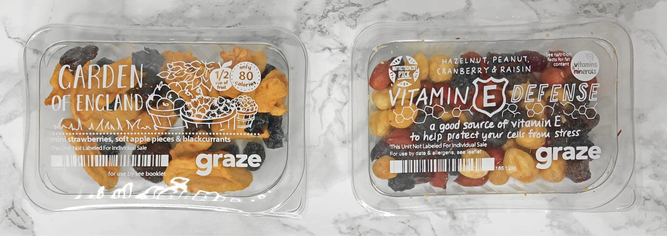Graze Review - Garden of England and Vitamin E Defense